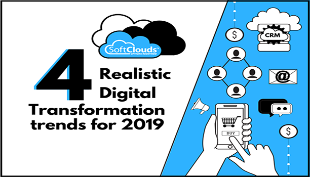 Four Realistic Digital Transformation trends for 2019