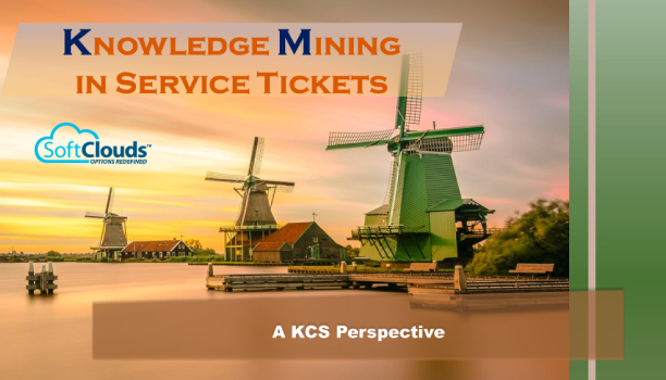 Knowledge Mining in Service Tickets